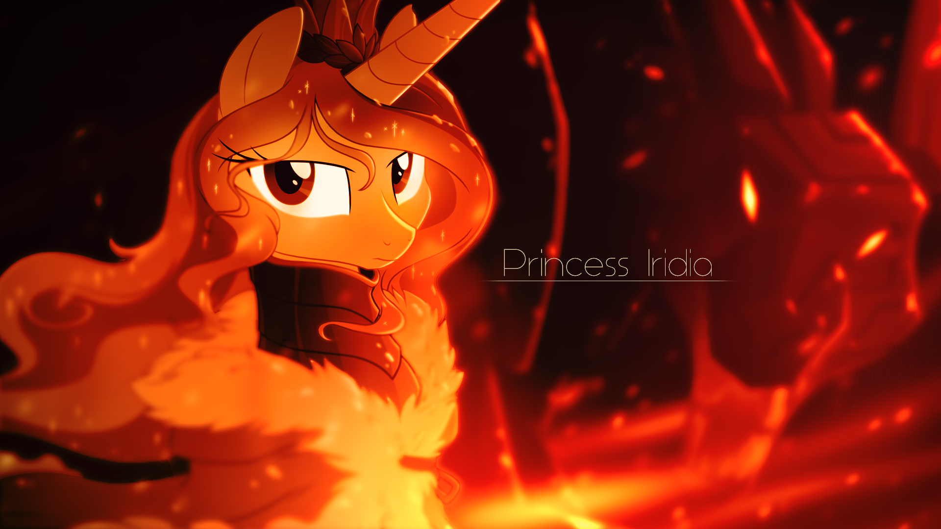 Fire  by Equestria-Prevails and Rainbowb4sh