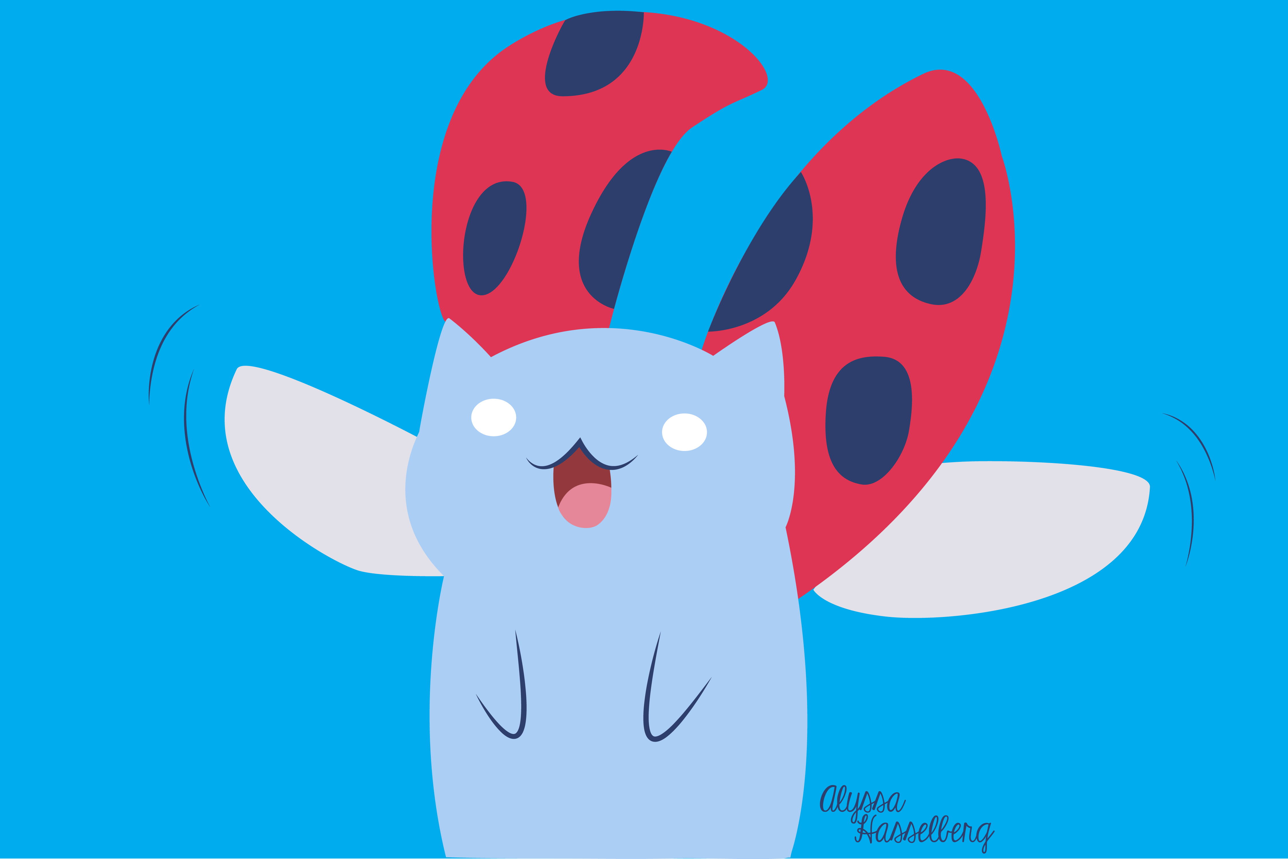Flying Catbug By Thegreatdawn Cartoon Hangover My Little Wallpaper The Wallpaper Source That Credits Artists