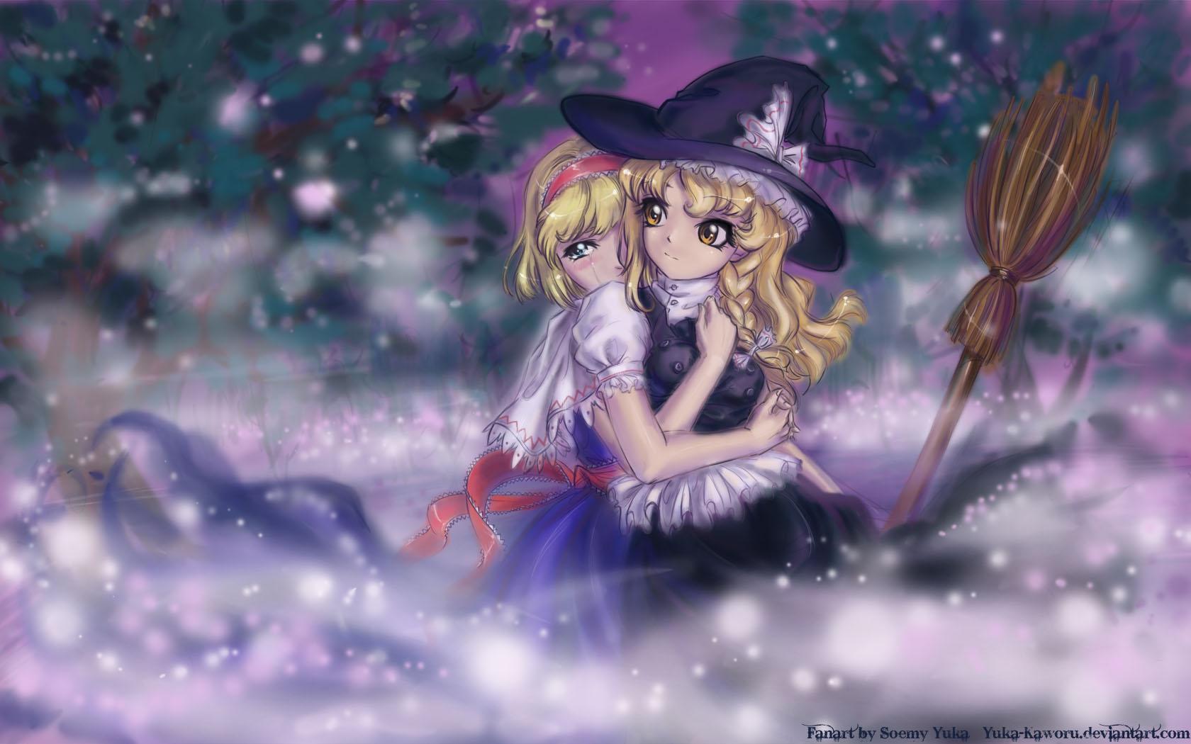 Alice and Marisa.... by Yuka-Soemy