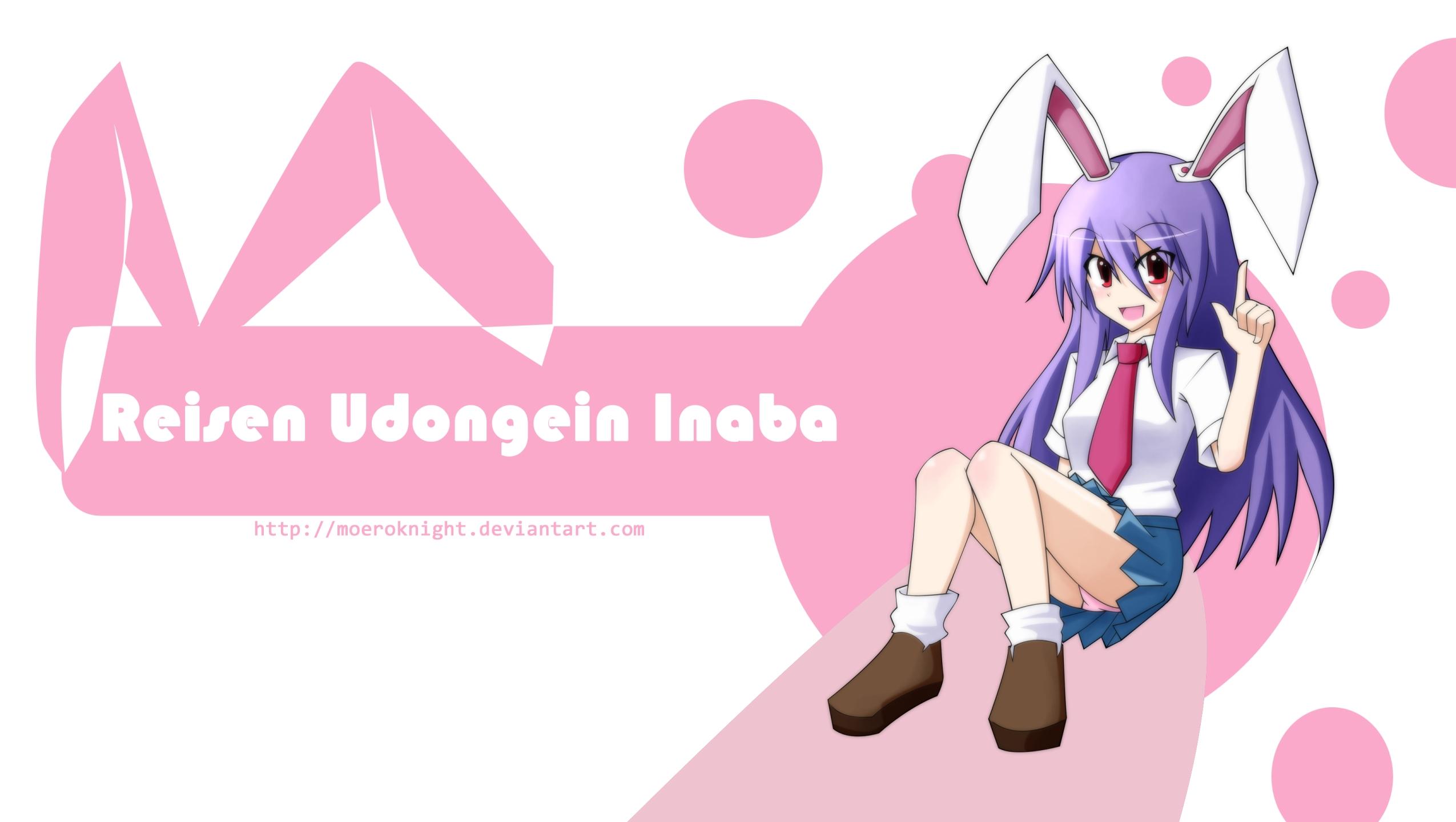 Reisen Udongein Inaba Pink Wallpapers and Images Desktop Nexus