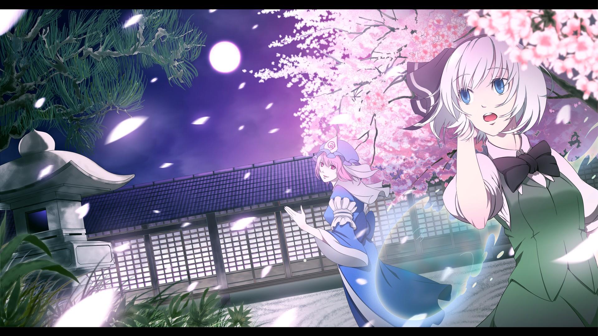 Touhou / Youmu & Yuyuko by Torizousui