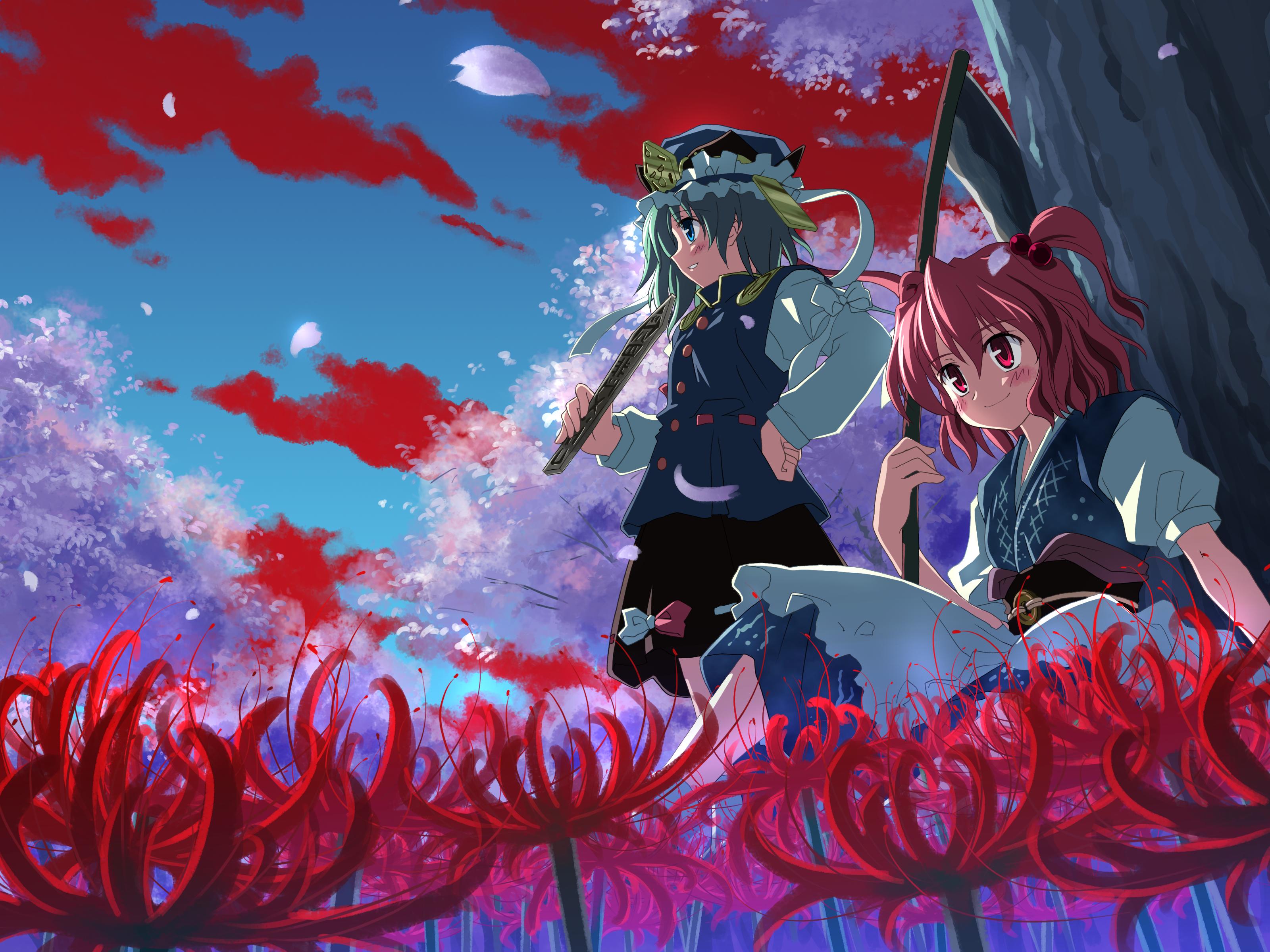 Shikieiki Yamaxanadu & Onozuka Komachi by uki