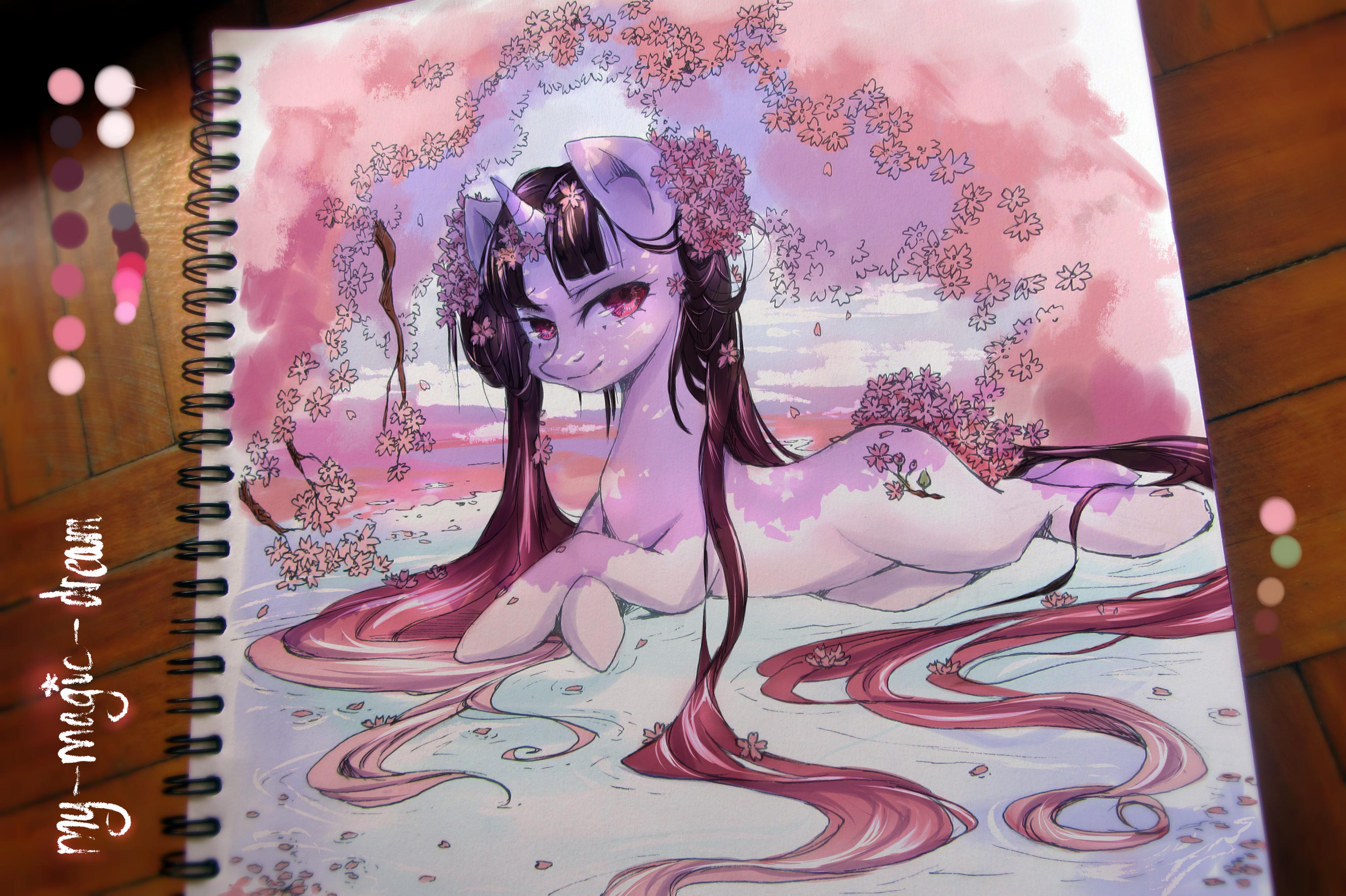 Sakura Pony by My-Magic-Dream