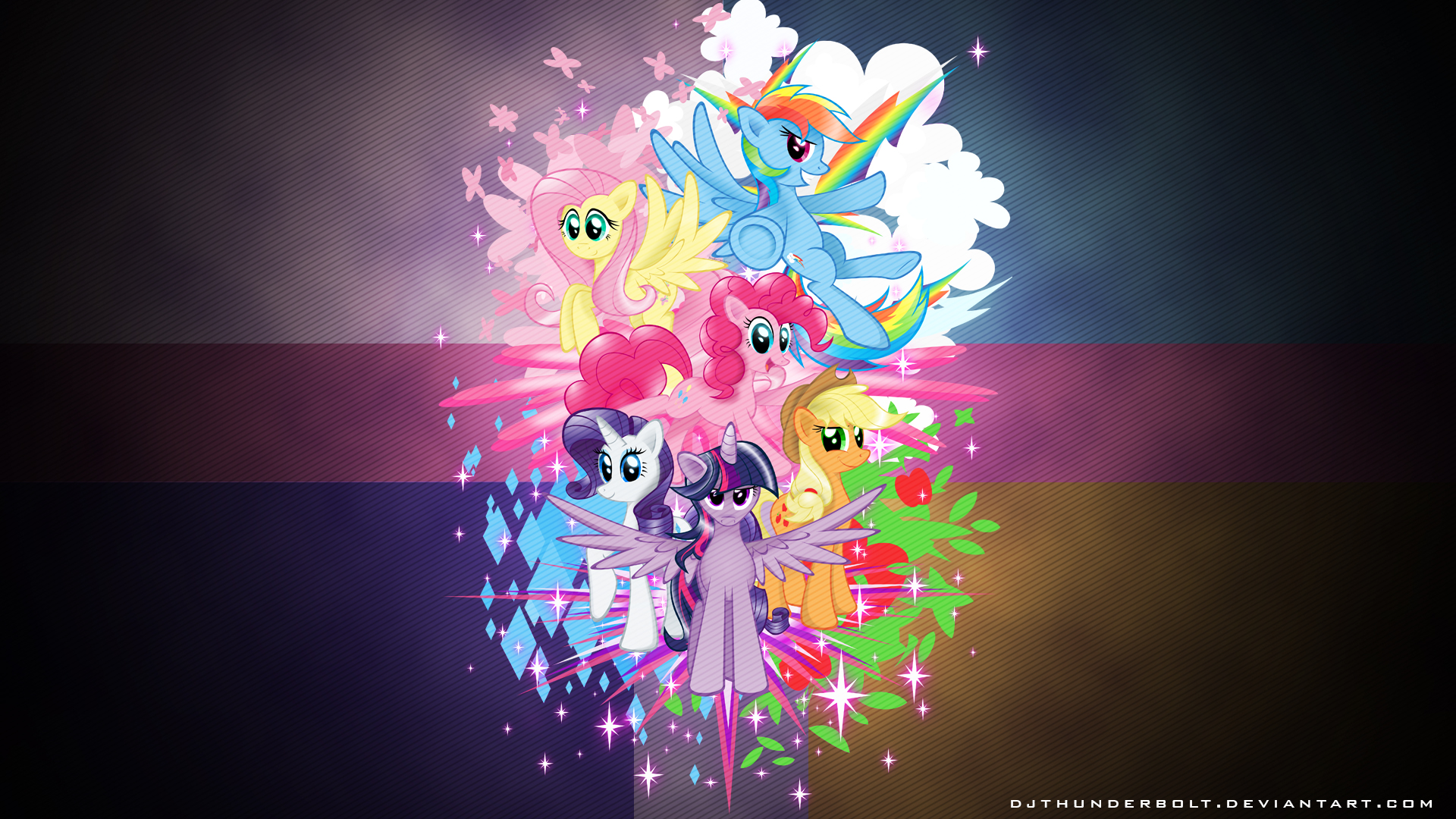 Harmony Wallpaper by flamevulture17 and IIThunderboltII