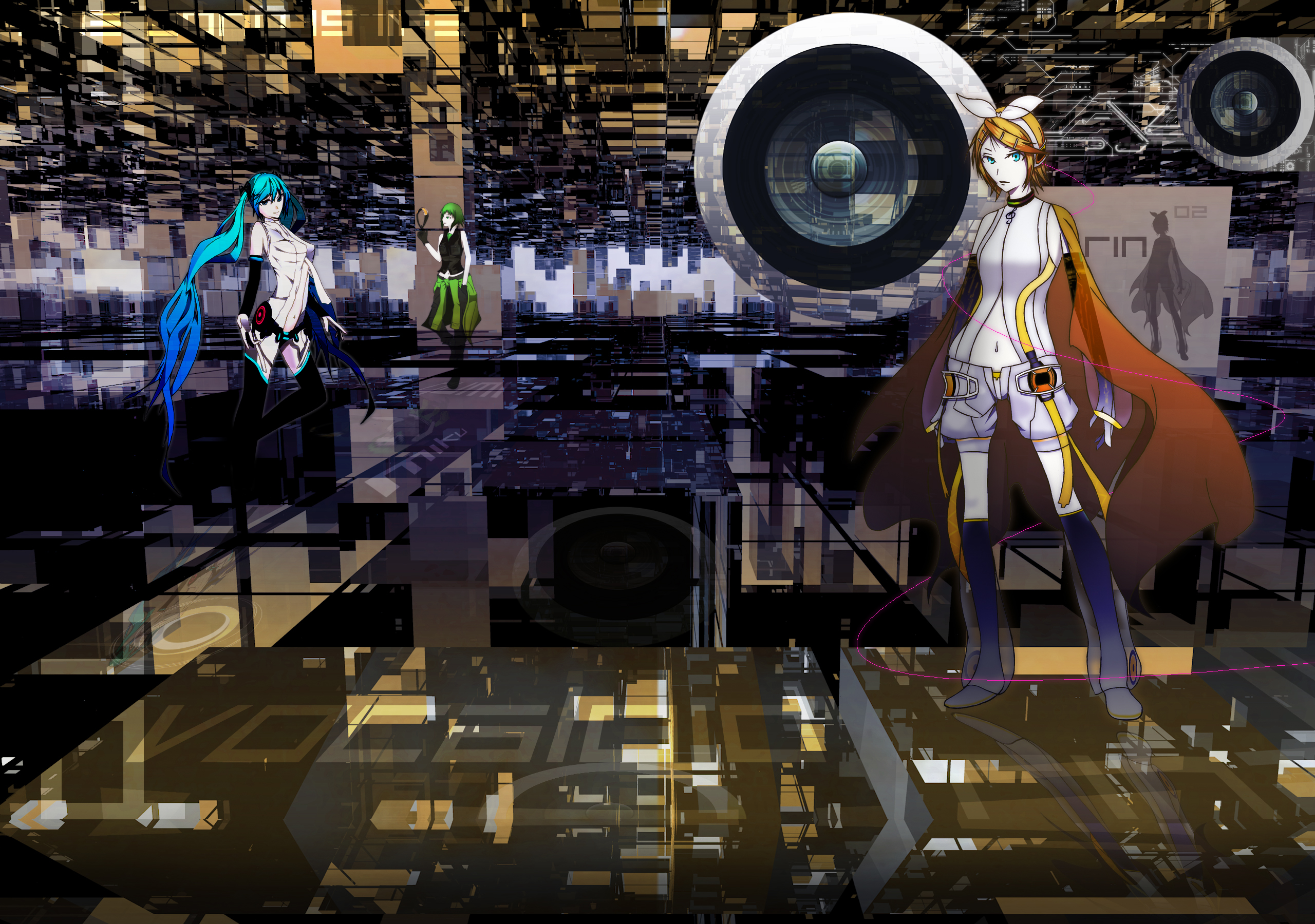 Vocaloid's Sound Mirror World by 一撫@アイス食べたい