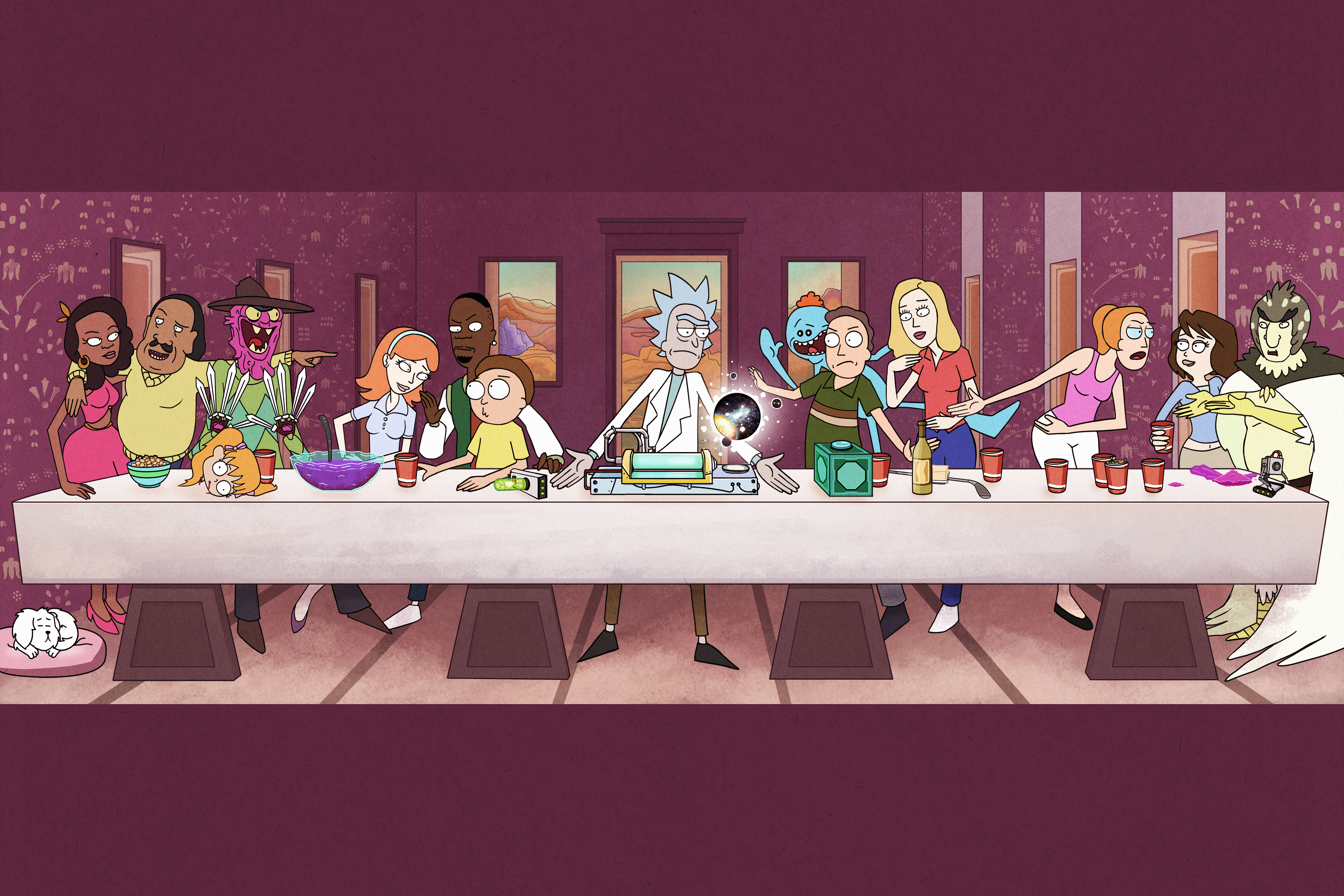 Last Supper by Illustronomer