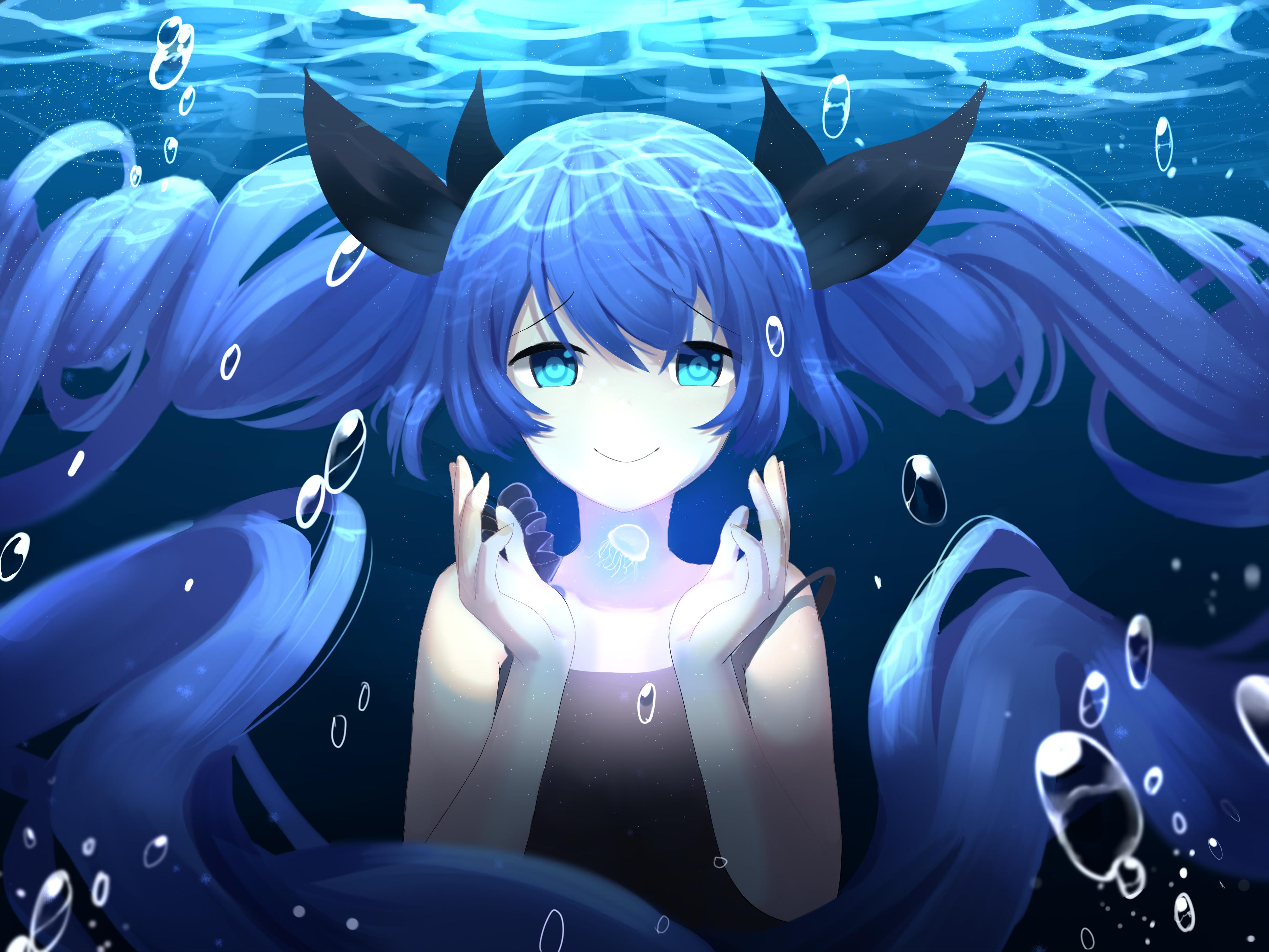 Deep Sea Girl by RenNoble