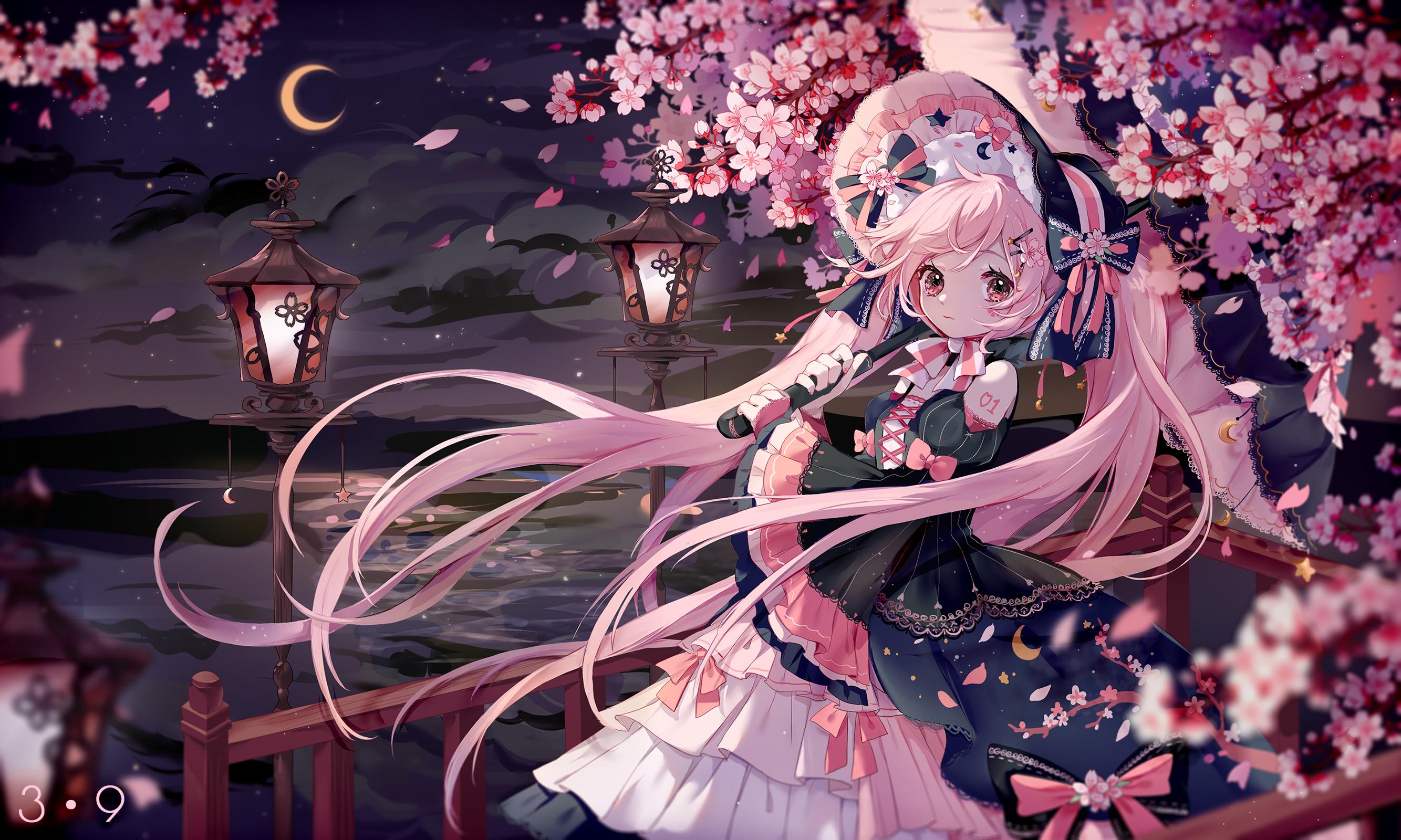 夜桜 by 西名◇にしな