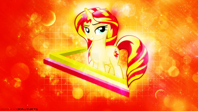 Sunset Shimmer My Little Pony My Little Wallpaper The